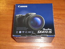 NEW in Box - Canon PowerShot SX410 IS 20.0 MP Camera - BLACK - 013803254532