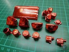 PS4 Controller Button Knöpfe Mod Modding Playstation4 CHROM ROT