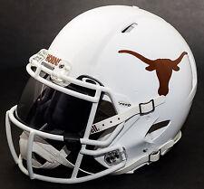 *CUSTOM* TEXAS LONGHORNS NCAA Riddell SPEED Full Size Replica Football Helmet