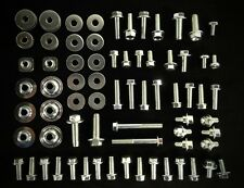 Suzuki 87pc Body bolt kit Drz 110 125 200 250 400 650 plastics fenders dirtbike (Fits: Suzuki)