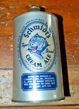 "Tough Schmidt's ""Silver Noggin"" Cream Ale Quart Irtp Cone Top Beer Can"