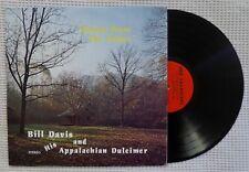 BILL DAVIS Echoes From The Valley Private Folk His Appalachian Dulcimer Vinyl EX