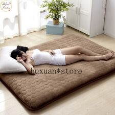 Popular 5CM Thickness Mattress Flannel Breathable Bed Mat Single Non-slip Tatame