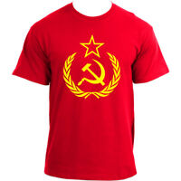 Hammer and Sickle USSR CCCP Russian Communist  T-Shirt