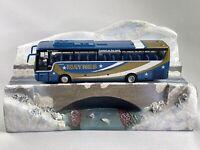Corgi 1/76 Scale OM45908 - Van Hool T9 Bus/Cold Cast Diorama - Maynes Of Buckie