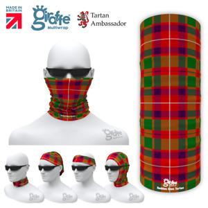 Geddes Clan Scottish Tartan Multifunctional Headwear Neckwarmer Bandana