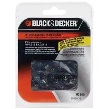Black+Decker 8 in Replacement Saw Chain Original Cordless Cutting Chainsaws Pole
