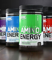 Optimum Nutrition Amino Energy 270g Powder / 30 SERVINGS / ALL FLAVOURS
