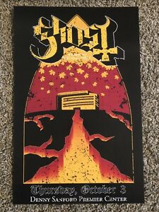 Ghost BC Sioux Falls SD 2019 Concert Poster