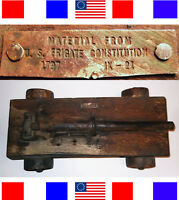 1797 ANTIQUE USS CONSTITUTION SHIPS CANNON Navy Nautical Boat Revolutionary War
