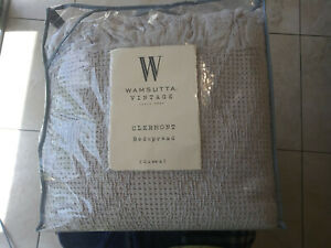 New Wamsutta Vintage Clermont Bedspread Lilac Queen Size