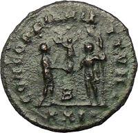 DIOCLETIAN 286AD Ancient  Roman Coin Nude JUPITER Zeus Cult  i29269