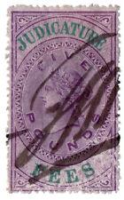(I.B) QV Revenue : Judicature Fees £5 (1875)