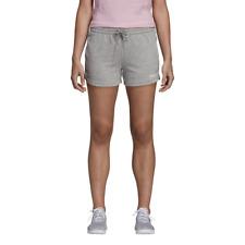 Adidas Mujer Pantalones Atletismo Essental Sólido Cortos en Forma Lifestyle