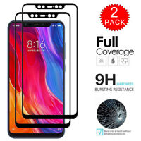 For Xiaomi 8 Pro / 8 Lite / 8 SE - Full Cover Tempered Glass Screen Protector X2