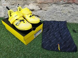 BRAND NEW IN BOX ~ Mavic Cosmic Ultimate Tri Triathlon Shoes UK 6.5 ~ COST £310