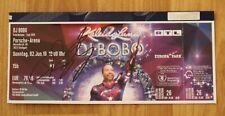 """ORIGINAL Autogramm auf einem Ticket von DJ BOBO. """"KALEIDOLUNA"""" 100 % Echt."""