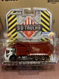 Greenlight  SD TRUCKS Series 10. 2019  Mack LR Front Load Refuse  Truck