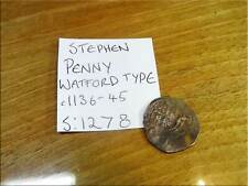 More details for stephen penny cross moline watford type s:1278 full flan silver english hammered