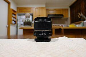 Canon EF-S 18-55mm f.3.5-5.6 II Zoom lens