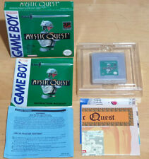 MYSTIC QUEST for NINTENDO GAME BOY COMPLETE WITH MAP IN NEAR MINT COND PAL UKV