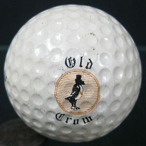 1950's-60's Old Crow Whiskey Golf-Ball Tourney 2 Macgregor