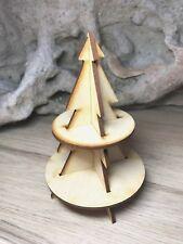 3D Christmas Tree Magical Fairy Door Add MDF kit or Dolls House Tree