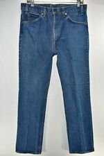 Vtg Levis 517 Mens Blue Jeans Orange Tab Size 34x34 Meas. 33x33