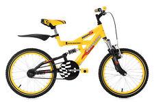 Kindermountainbike Kinderfahrrad 18 Zoll Krazy gelb-schwarz KS Cycling 644K