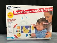 Vintage 1995 Gerber Growing Toys Musical Dreamer Activity Screen New Open Box