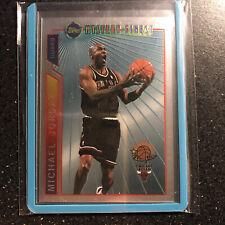 1996 Topps Michael Jordan Mystery Finest Super Team Basketball Card # M14  SHARP