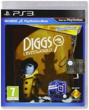 ️ Sony Wonderbook Diggs Nightcrawler Ps3 Playstation 3 inglese Videogioco