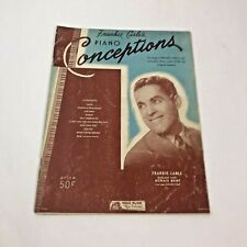 Frankie Carle's Piano Conceptions Sheet Music 1929-32 Vintage