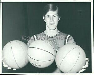 1969 Brian Heublein Poly Hi Helms MVP Basketball Original News Service Photo