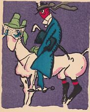 Caricature Alfred Jarry Laval Mayenne Gus Bofa Pataphysique 1923