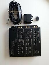 Kicker Front Row Zxdsp1 6 Channel Digital Signal Processor Eq w/ Control Knob