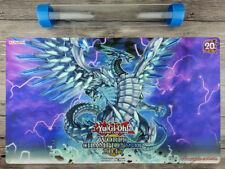 YuGiOh Blue-Eyes Chaos MAX Dragon Custom Playmat TCG Mat Free High Quality Tube