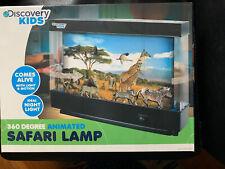 Discovery Kids 360 Animated Safari Night Light Lamp Comes Alive Motion w/ Box