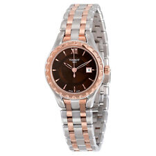 Tissot T-Trend Lady Brown Dial Two-tone Ladies Watch Watch T0720102229800