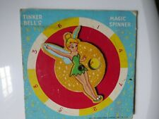 Tinker Bells Magic Spinner Walt Disney Peter Pan Game 1953