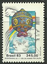 BRAZIL. 1983. Manned Flight Commemorative. SG: 2058. Mint Never Hinged
