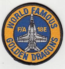 VFA-192 GOLDEN DRAGONS F/A-18E SHOULDER PATCH