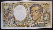 1992 France, Bank of  200 Francs Bank Note Higher Grade   ** FREE U.S SHIPPING**
