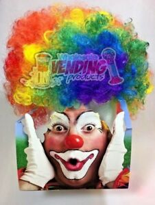 Clown Wig and OR Nose One Size Fits Most