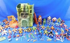 Lot of Vintage 1980's He-Man Masters of the Universe MOTU 37 Figures and Castle