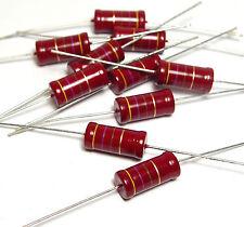 10x Widerstand Beyschlag 470 Ohm, 2W, f. Röhrenverstärker / Tube Amplifier, NOS