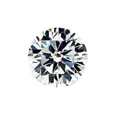 2.00mm Round White Cubic Zirconia Loose Stone High Quality Decent (5 pcs)