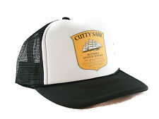 Cutty Sark Whisky Trucker Hat mesh hat snapback hat Black