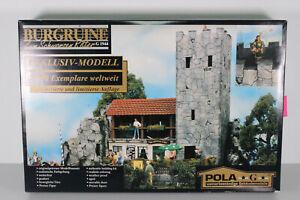 Pola G 1944 LGB Burgruine Bausatz OVP geöffnet, ungebaut limitiert (S57)