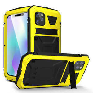 Heavy Shockproof Metal Aluminum Gorilla Case Stand For iPhone 11 XR XS Pro Max